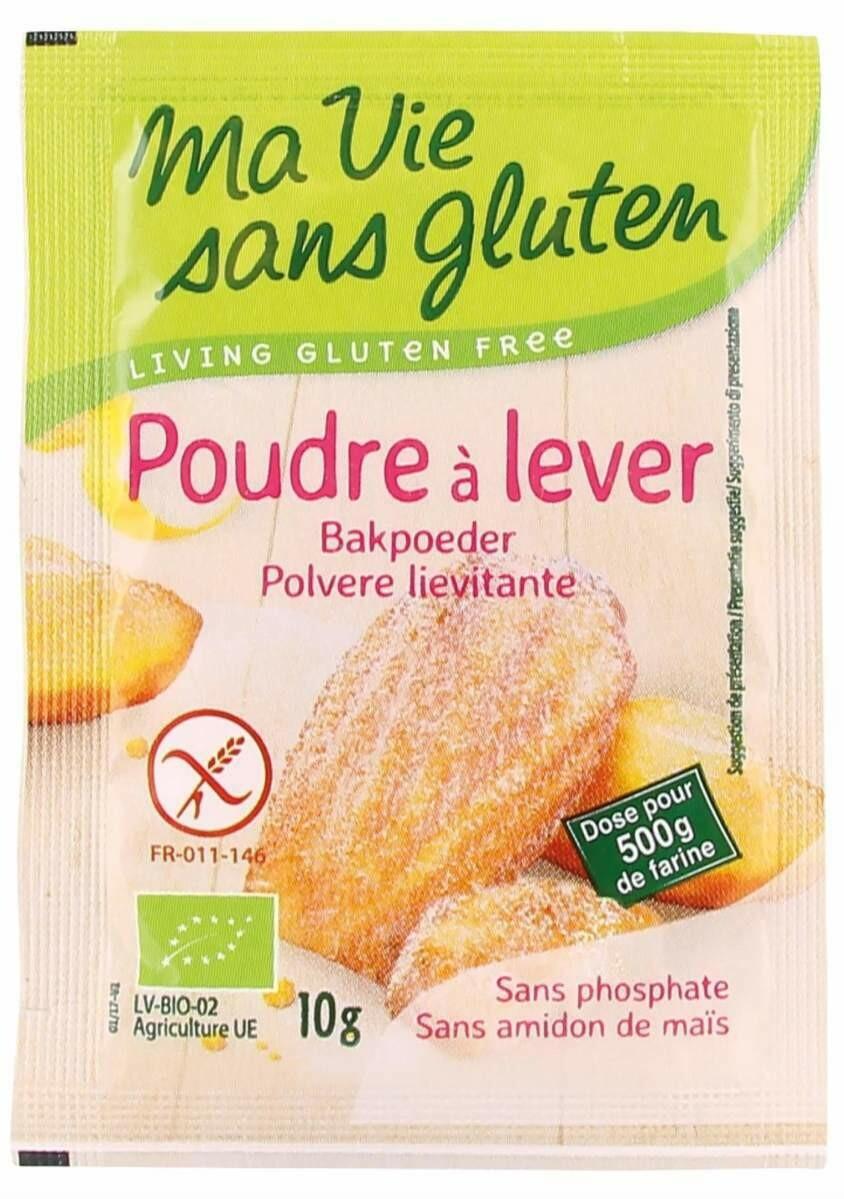 Ma vie Sans Gluten Bakpoeder 4 x 10 g