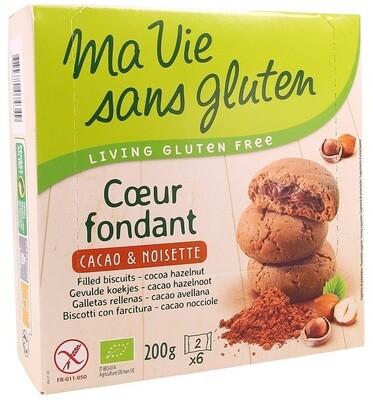 Ma Vie Sans Gluten Coeur Fondant cacoa en Hazelnoot 200 g