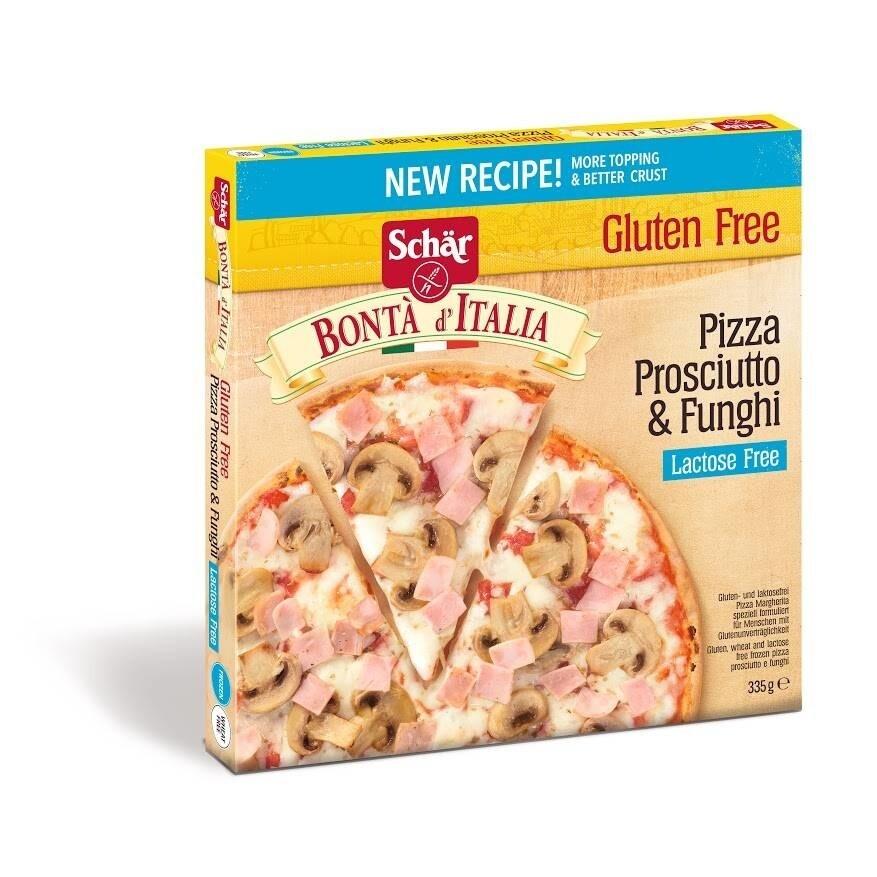 Schar Pizza Proscuitto & Funghi 335 g ( ENKEL AFHALING)