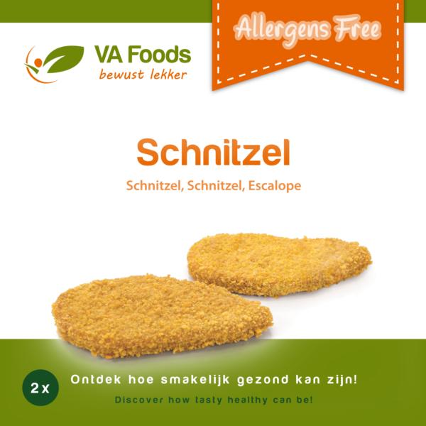 Schnitzel Va Foods DIEPVRIES  (AFHALING OF ENKEL LEVERING OP ZATERDAG  IN DE AANGEGEVEN PROVINCIES !)