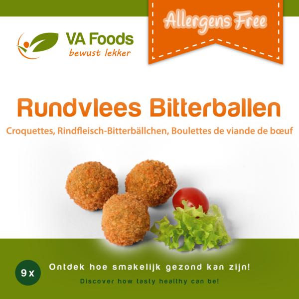 Rundvlees Bittervallen VA Foods ( DIEPVRIES, ENKEL OP AFHALING)