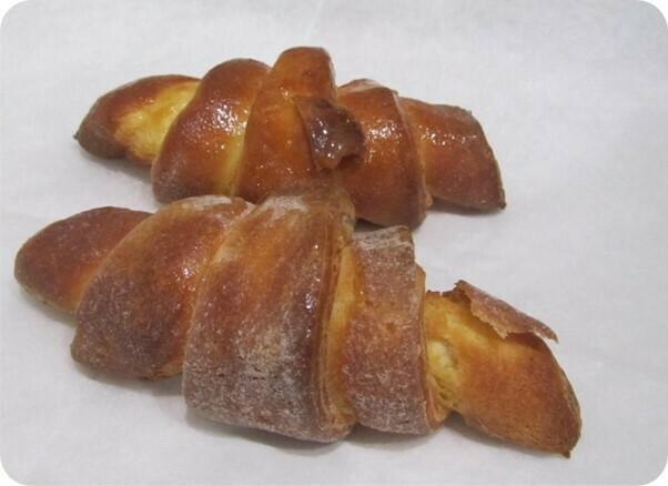 Glutenvrije Croissant ' t Pateeke ( bestellen voor dinsdag 18 uur voor levering op zaterdag )