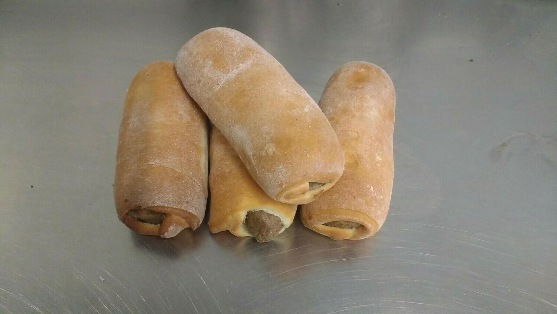 Worstenbroodje ' T Pateeke ( bestellen voor dinsdag 18 uur voor levering op zaterdag )