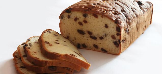Rozijnenbrood ' T Pateeke 800 G( bestellen voor dinsdag 18 uur voor levering op zaterdag )