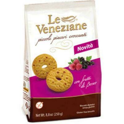 Le veneziane Glutenvrije bosvruchtenkoekjes