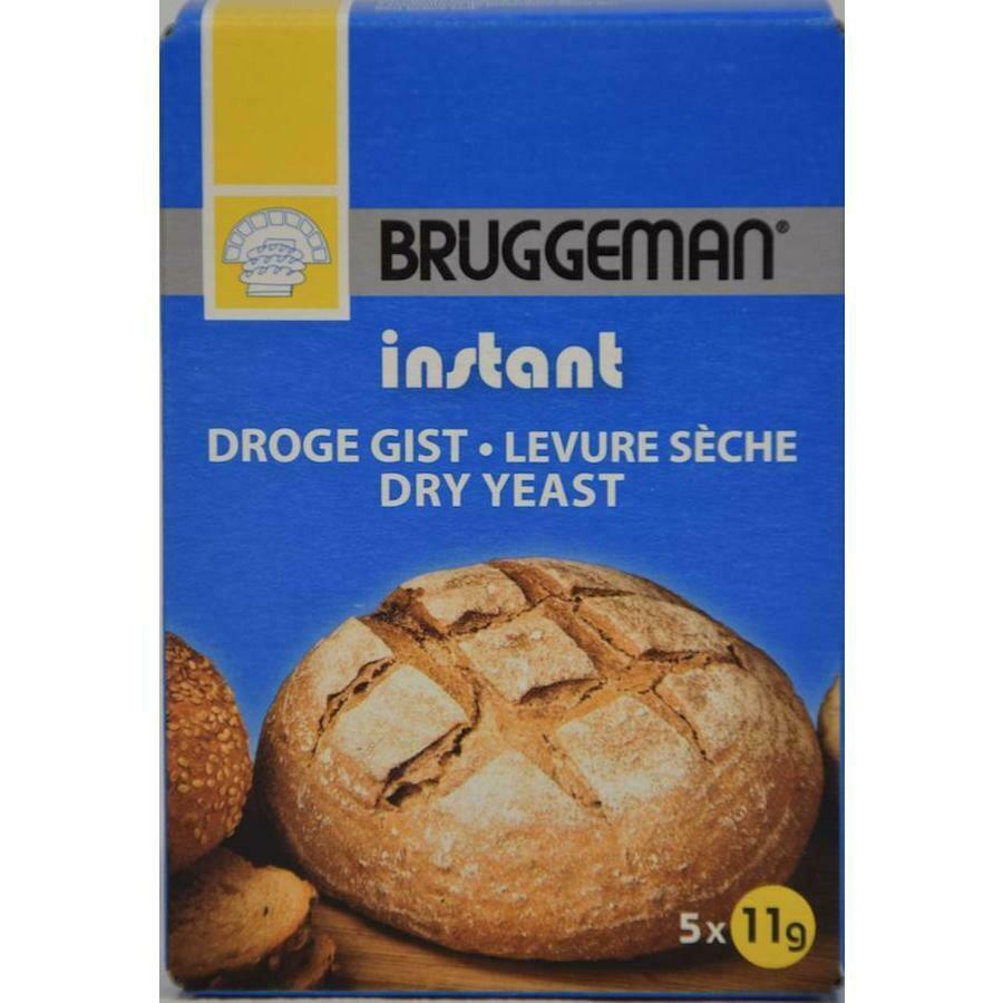 Bruggeman instant Gist( 5 zakjes van 11 gram)
