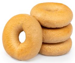Happy Bakers Bagels Bruin ( 4 stuks) GV-LV-Vegan