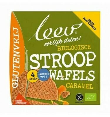 Leev Stroopwafels Bio Gluten- en Lactosevrij 120 g