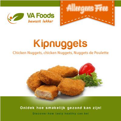Va Foods Kipnuggets Diepvries (AFHALING OF ENKEL LEVERING OP ZATERDAG  IN DE AANGEGEVEN PROVINCIES !)