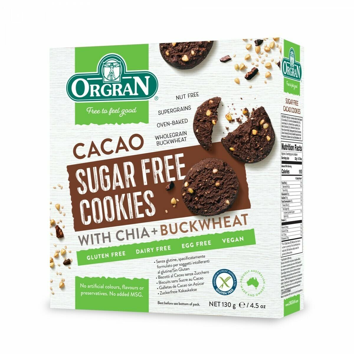 Orgran Cacao Suikervrij