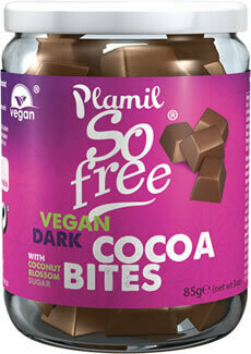Plamil So Free vegan Dark Cacao Bites