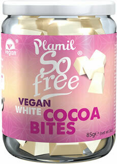 Plamil  Vegan White Cacao Bites