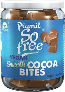 Plamil vegan milky smooth Cacaobites