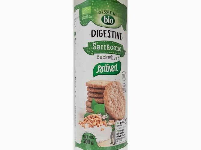 Santiveri Digestive Koekjes Boekweit