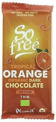 Plamil vegan Tropical Orange Organic Dark chocolate