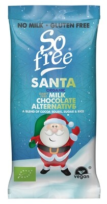 Plamic Organic chocolade Kerstbar