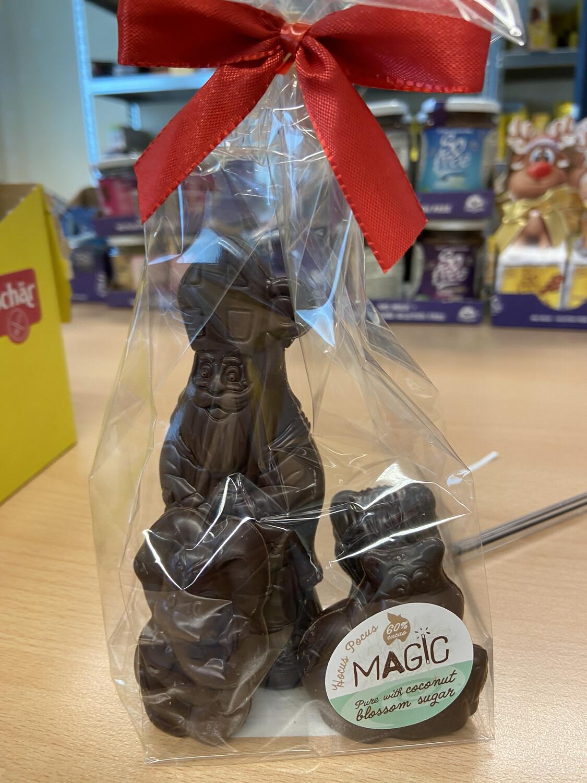 Chocolade Sint en beestjes Hocus Pocus 60 % 110 g