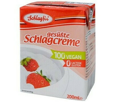 Schlagfix Sweetened 200 ml