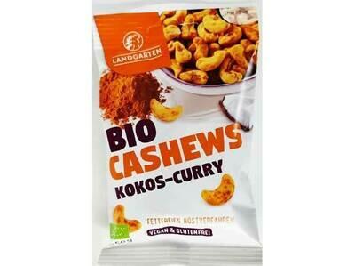 Landgarten Cashewnoten met curry en kokossmaak GV-LV