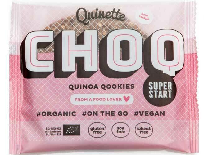 Quinette Quinoa Cookies Chocolade