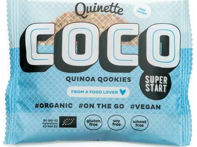 Quinette Quinoa Cookies Coco