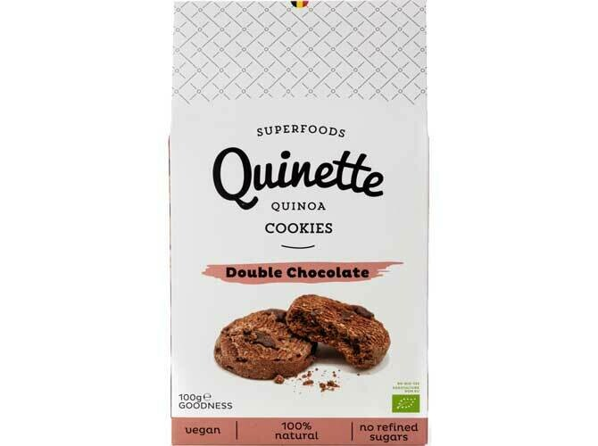 Quinette Quinoa en double chocolate