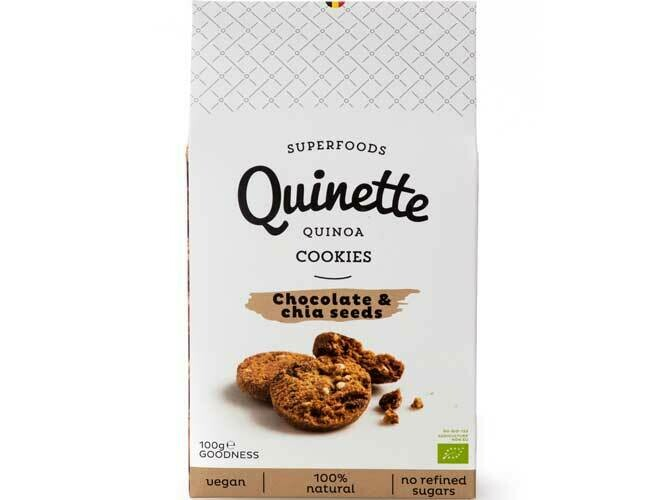 Quinette koekjes met chocolade & chia seeds