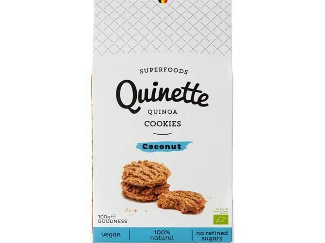 Quinette koekjes quinoa en kokosnoot