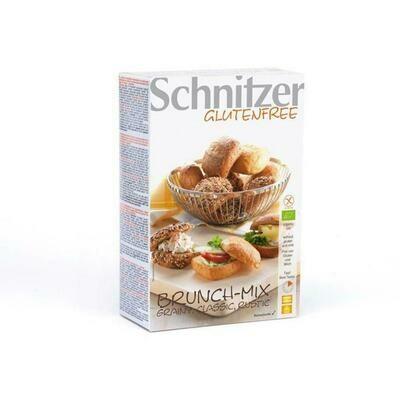 Schnitzer Brunch-mix Broodjes Biologisch Glutenvrij en lactosevrij