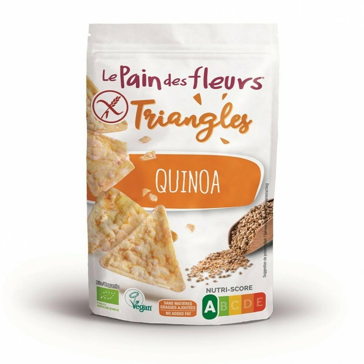 Pain Des Fleurs Triangles Quinoa