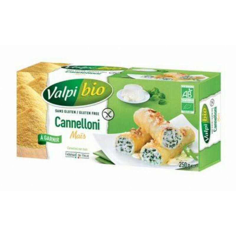 Valpi Bio Cannelloni Mais 250 g