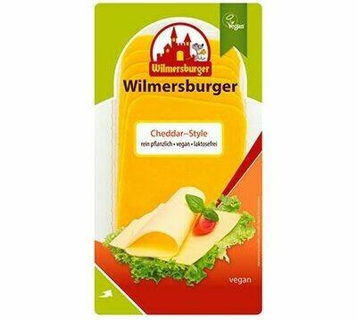 Wilmersburger Plakjes Queen Style Cheddar 150 g( enkel op afhaling)