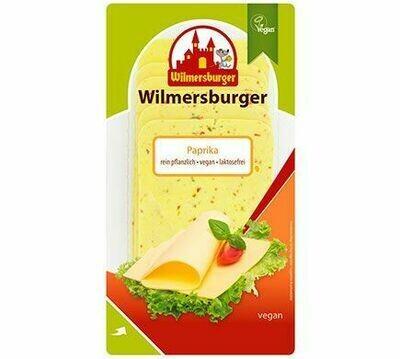 Wilmersburger Plakjes Paprika 150 g (8 plakken)( Bestellen voor Dinsdag 18 uur voor levering op zaterdag in uw provincie !)