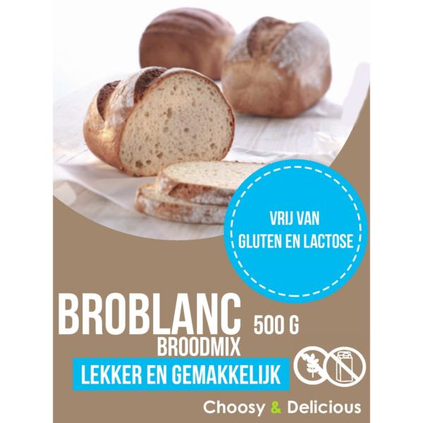 Choosy en delicious Broblanc GLV 500 g