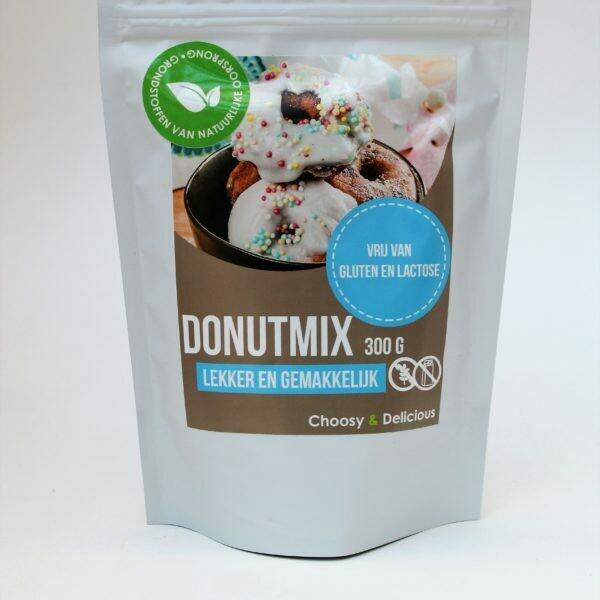Choosy en Delicious Donutmix GV en LV 300 g