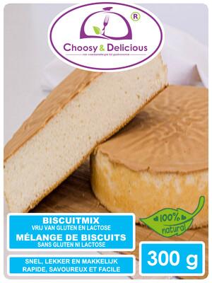 Choosy en delicious Biscuitmix Glutenvrij 300 g