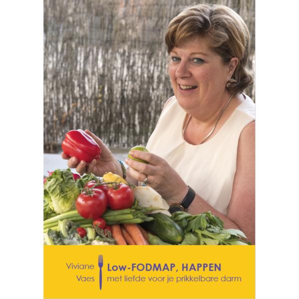 Boek Viviane Vaes( choosy & Delicious)' Low fodmap happen '
