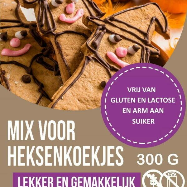 Choosy en Delicious Heksenmix vrij van gluten, lactose en arm aan suiker 300 g