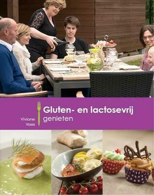 Boek Viviane Vaes ( choosy & delicious) 'Gluten - en lactosevrij genieten'