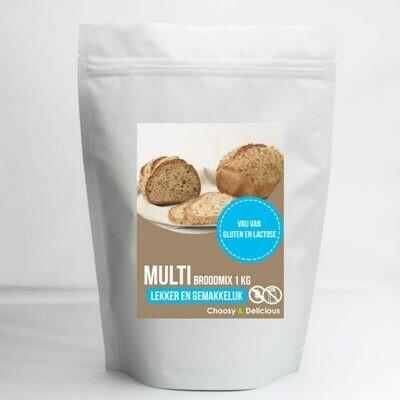 Choosy en Delicious Multigranen 1 kg