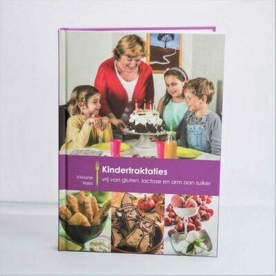 Boek Viviane Vaes Choosy en Delicious ' Kindertraktaties vrij van gluten, lactose en suikerarm