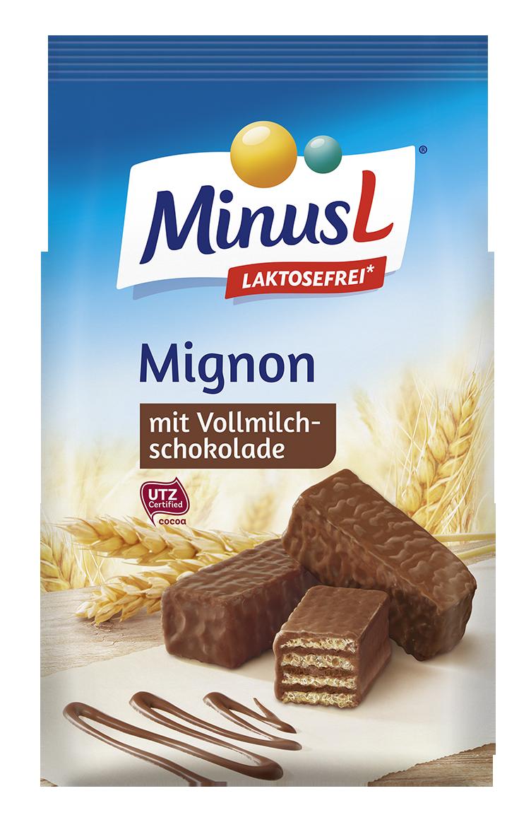 Minus L Mignonwafeltjes 200 g( niet glutenvrij, enkel lactosevrij )