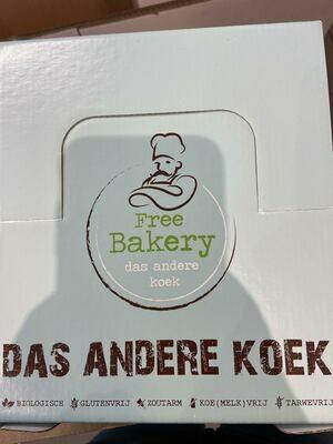 Peperkoek Biologisch en glutenvrij ( verpakt per stuk )