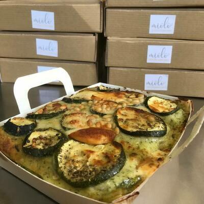 Miolo Lasagne Champignons en artisjok 450g ! GV - LV-Vegetarisch ( bestellen voor Dinsdag 18 uur voor levering zaterdag)