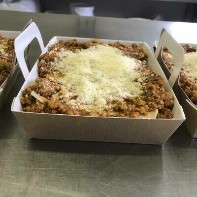 Miolo : Lasagne Bolognese 450g GV-LV ( vers, te bestellen tot dinsdag 18 uur voor levering zaterdag )
