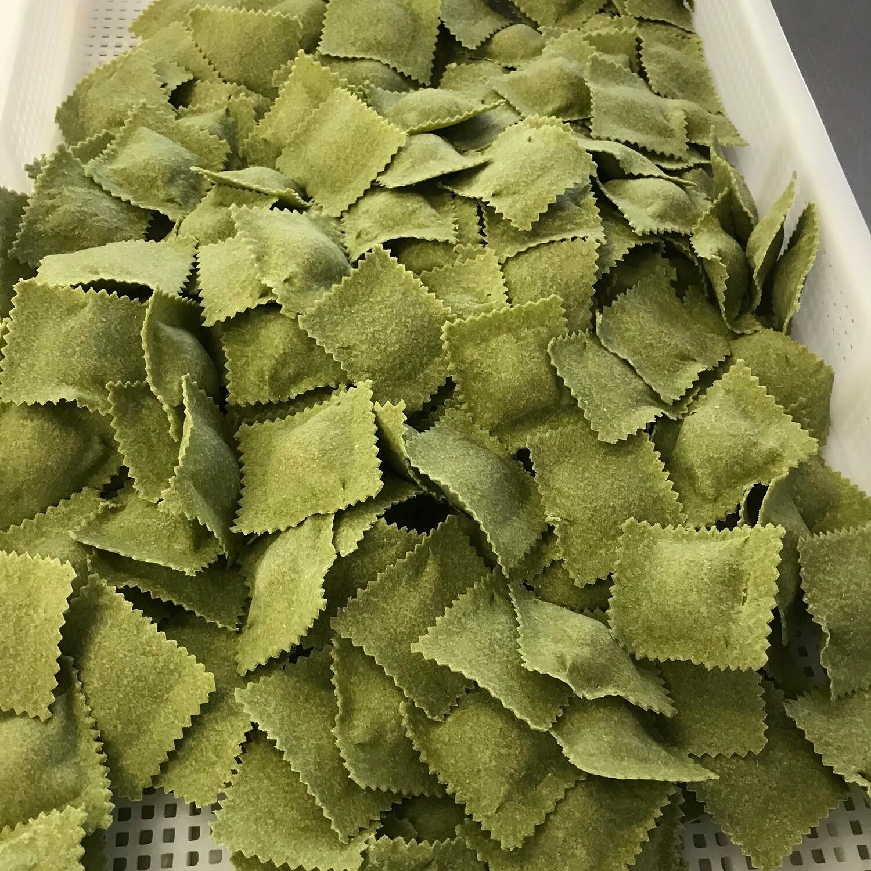 Miolo :Ravioli Met champignons en Truffel 150 g ( GV- vegetarisch) Bestellen voor dinsdag 18 uur voor levering op zaterdag !