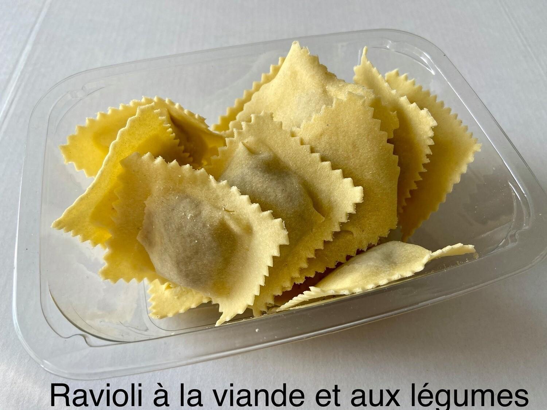 Miolo : Ravioli met pompoen en worst 150 g ( GV- LV) Bestellen voor dinsdag 18 uur voor levering op zaterdag !