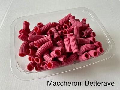 Miolo Macaroni met rode biet Miolo 200 g (Bestellen voor dinsdag 18 uur voor levering zaterdag ! )