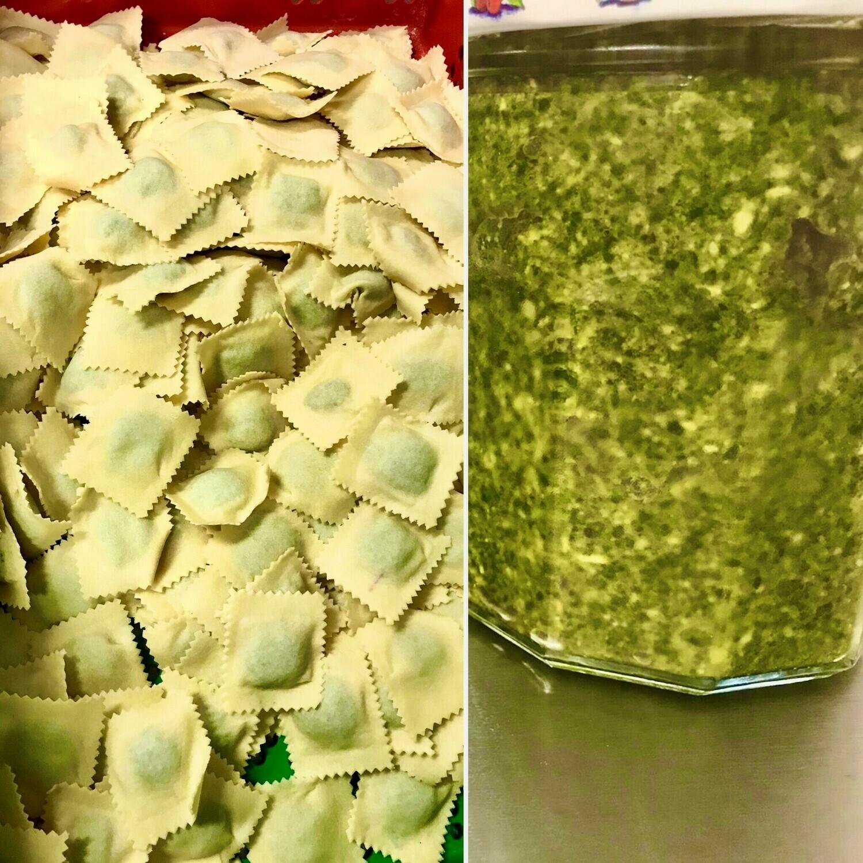 Miolo Pesto saus GV-LV-Vegetarisch- Eivrij  150 g( bestellen voor dinsdag 18 uur voor levering op Zaterdag ) !