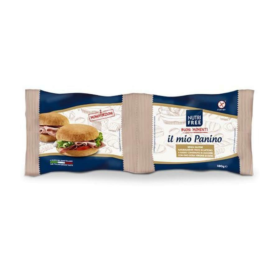 Nutrifree il mio panino( witte italiaanse bolletjes)